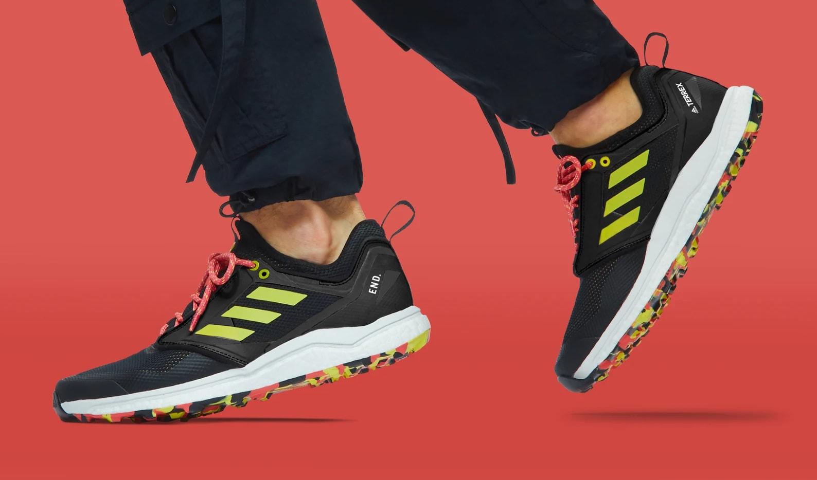 End. x Adidas Consortium Terrex Agravic XT 'Black/Red' F35785 4