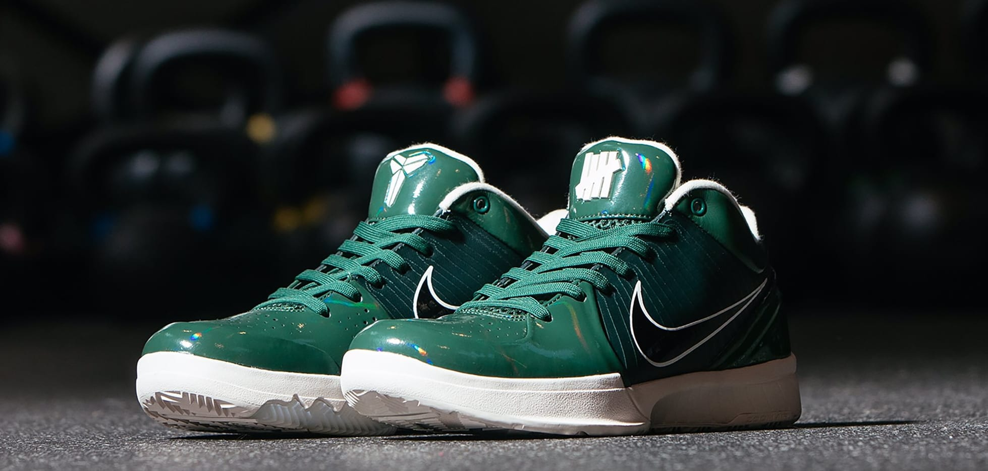 Undefeated x Nike Kobe 4 Protro 'Fir' (Pair)