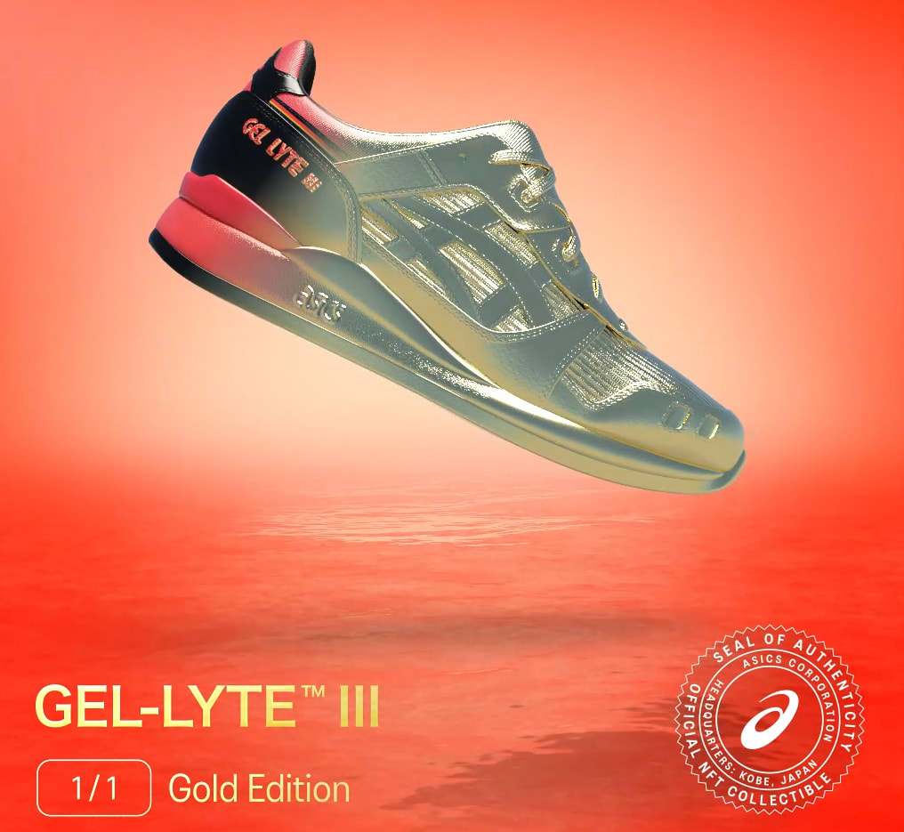 Asics Gel-Lyte 3 NFT Gold Edition