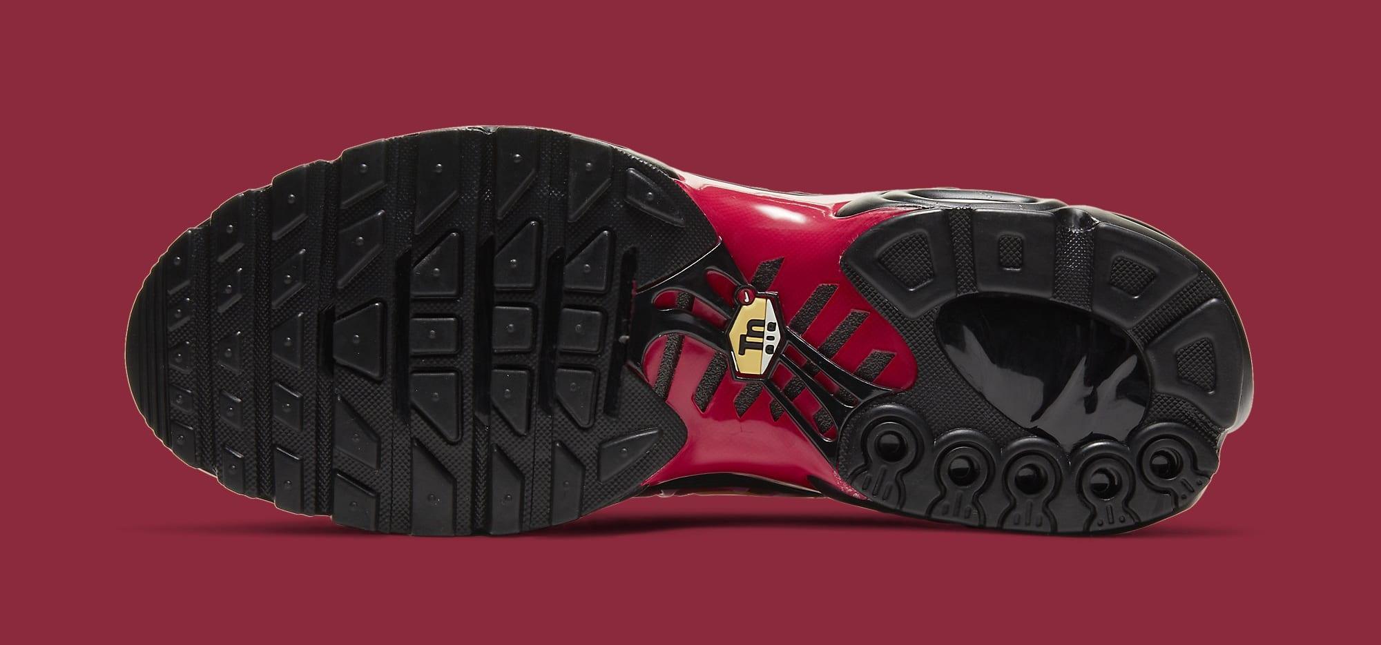 Supreme x Nike Air Max Plus 'Fire Red' DA1472-600 Outsole