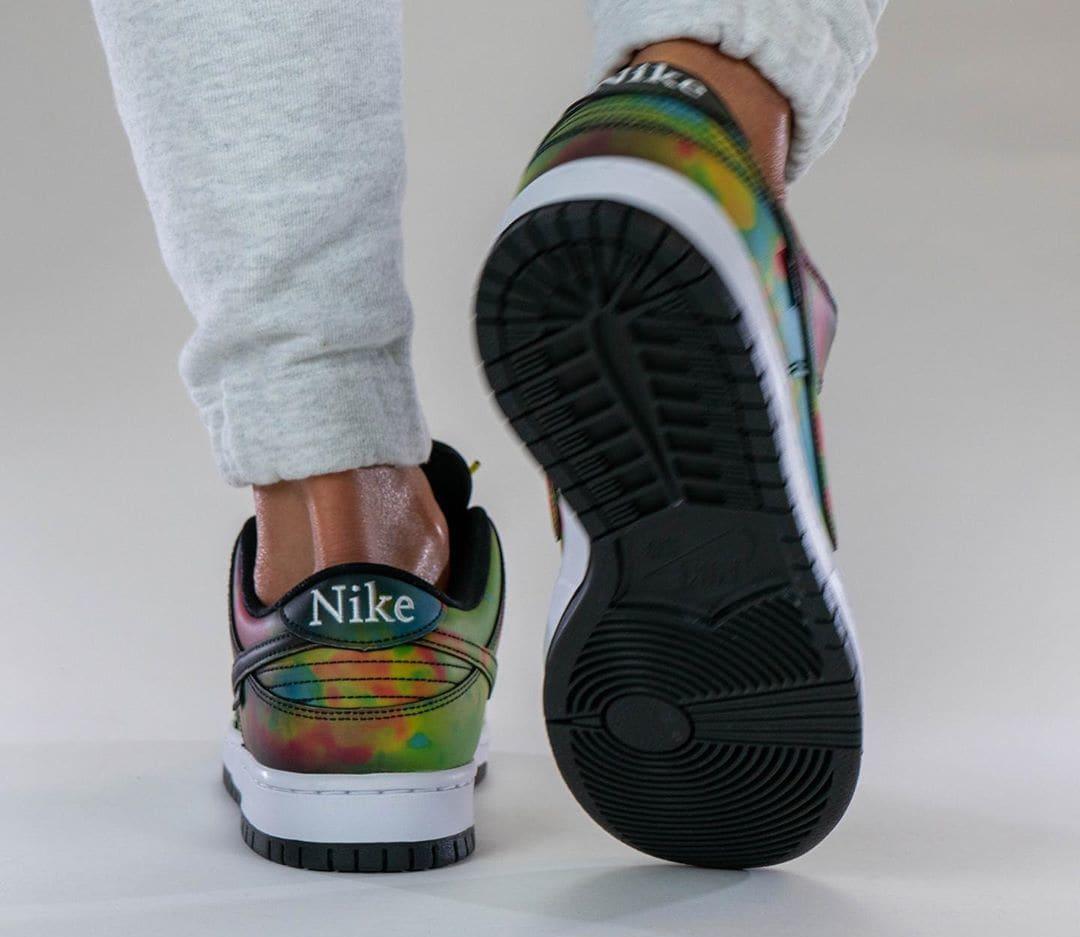 Civilist x Nike SB Dunk Low Black/Multicolor CZ5123-001 Heel