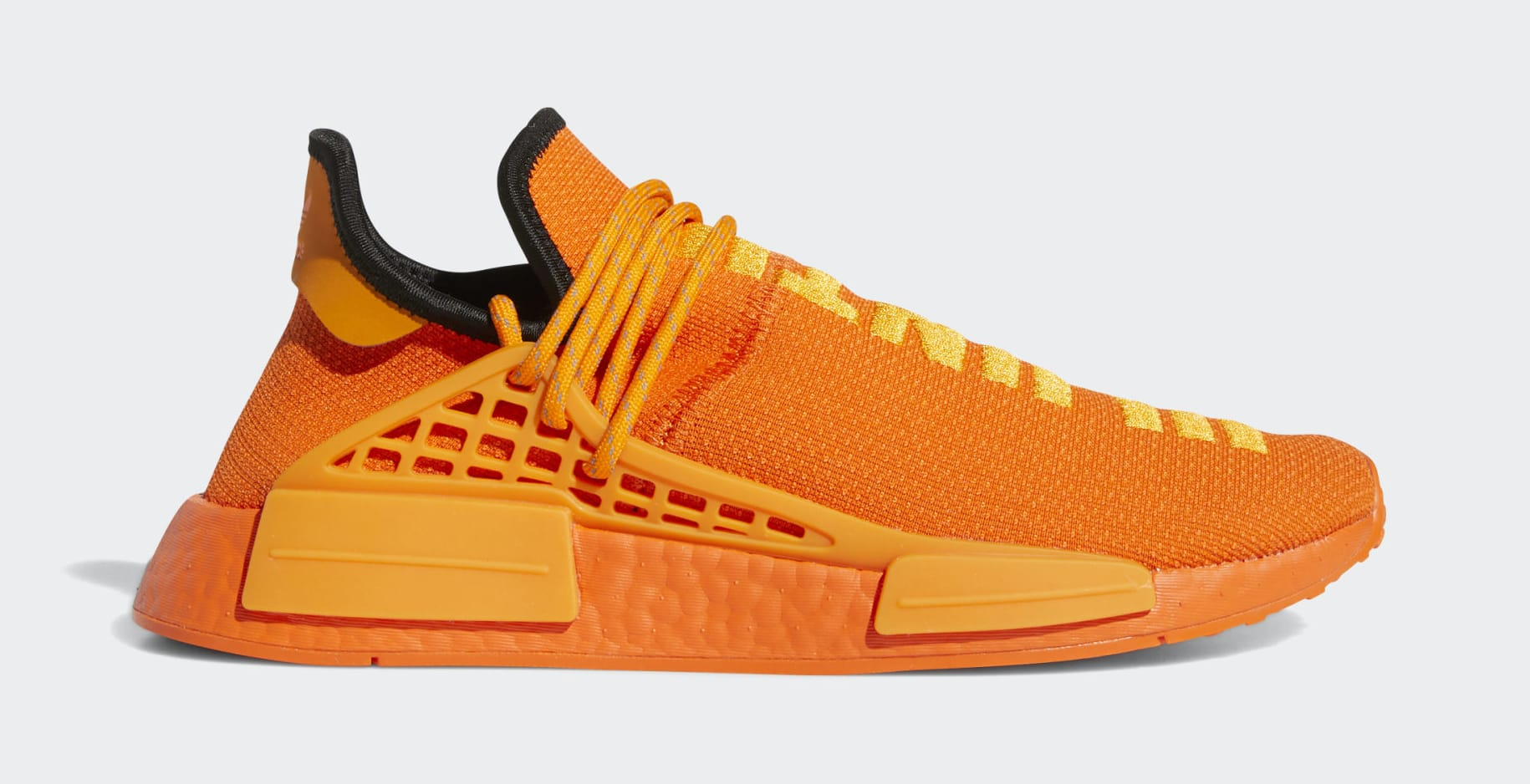Pharrell x Adidas NMD Hu Orange GY0095 Lateral