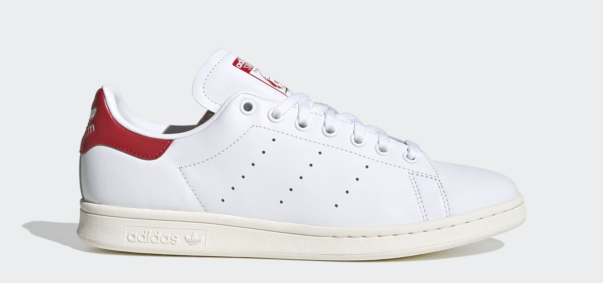 Adidas Stan Smith 'Valentine's Day' (Red) EH1736 (Lateral)