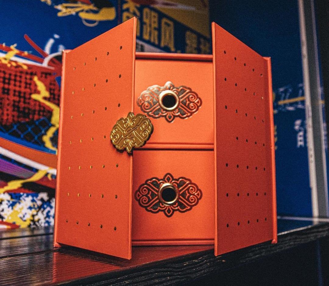 Nike LeBron 8 and 18 'China' Pack Box