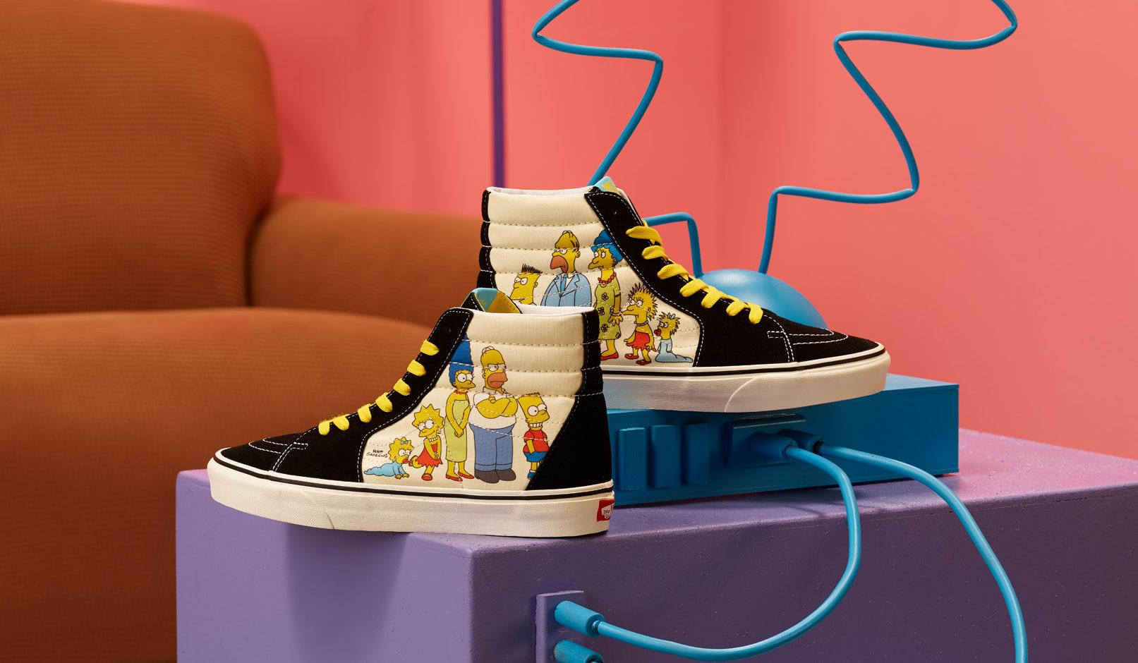 The Simpsons x Vans Sk8-Hi