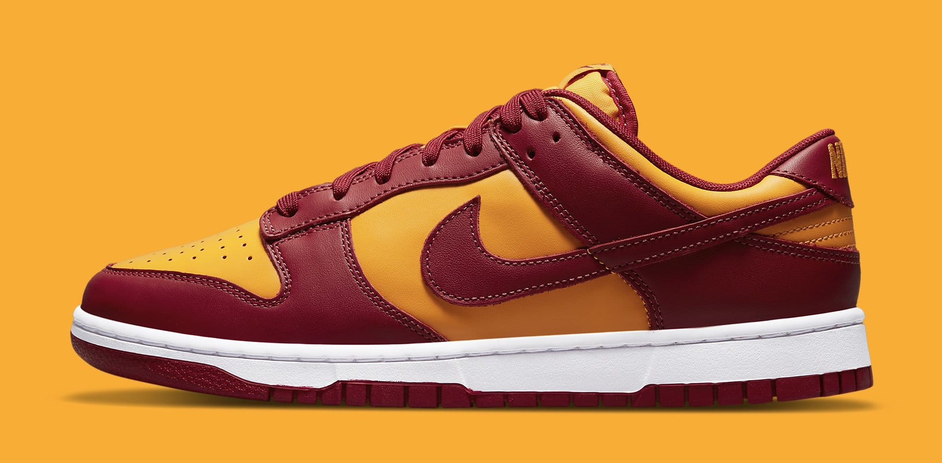 Nike Dunk Low 'Midas Gold' DD1391-701 Lateral