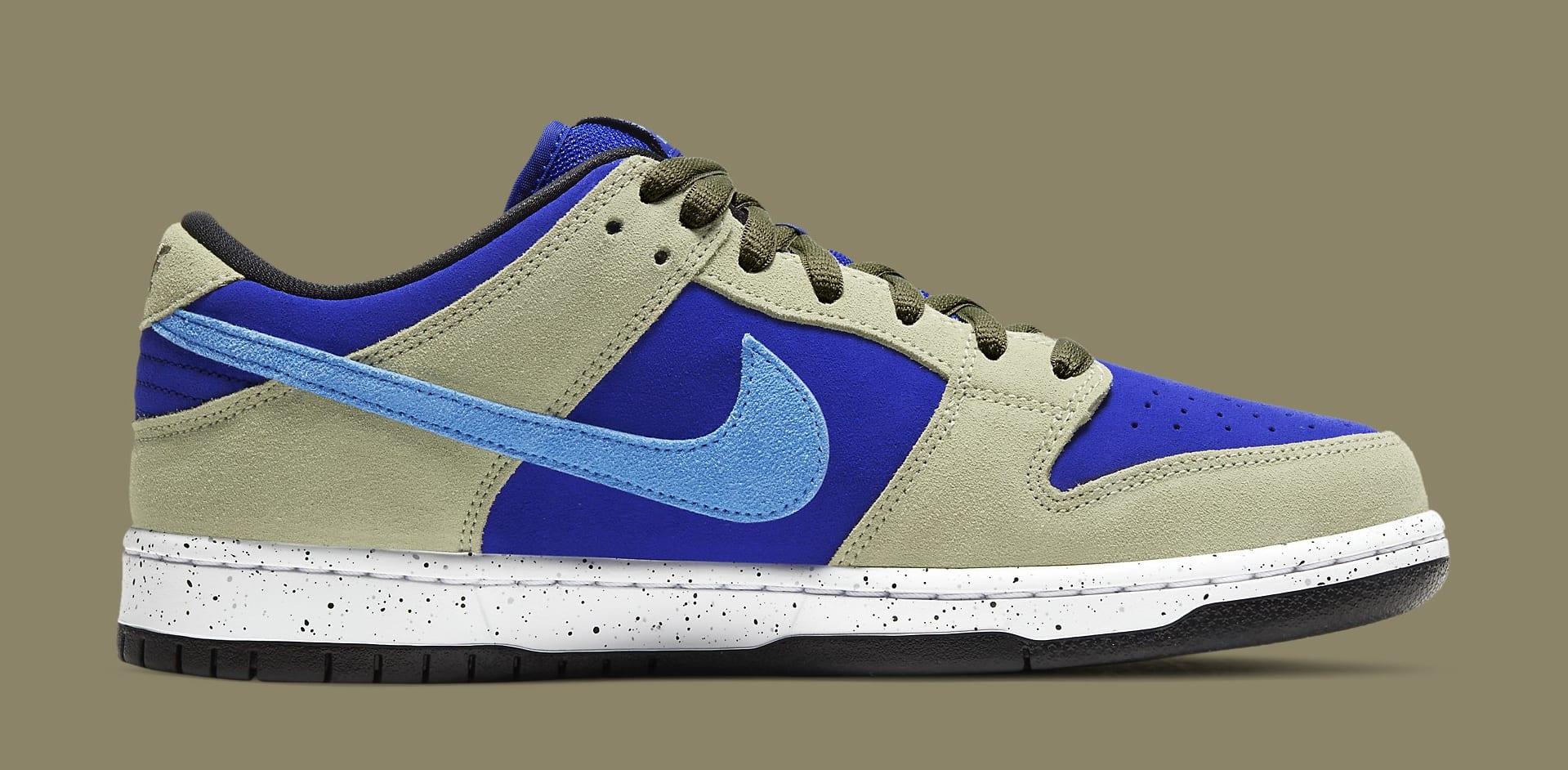 Nike SB Dunk Low 'ACG Caldera' BQ6817-301 Medial
