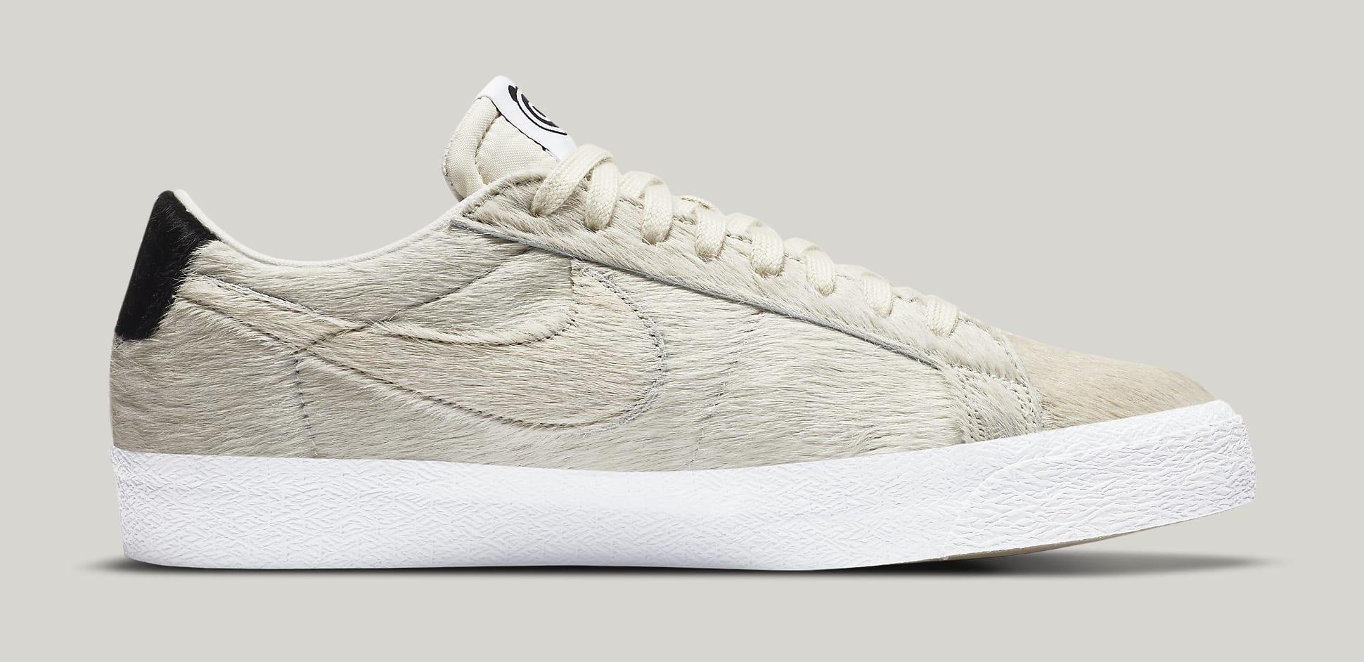 Medicom x Nike SB Blazer Low CZ4620-200 Medial