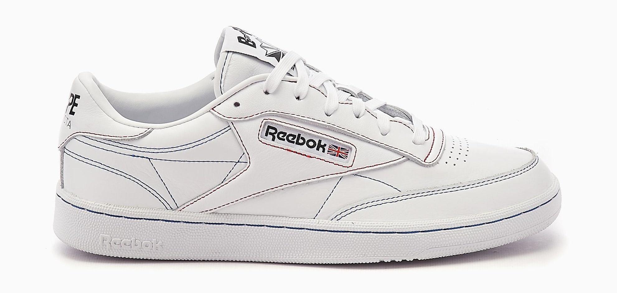 Bape x Reebok Club C Q47367 Lateral
