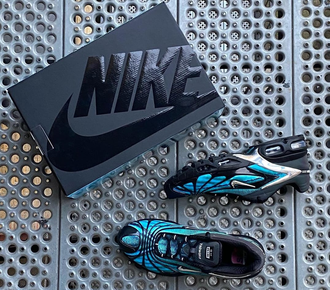 Skepta x Nike Air Tailwind V 'Blue' (Box)