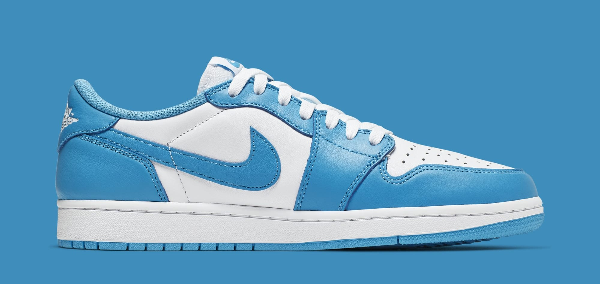 Eric Koston X Nike Sb X Air Jordan 1 Low X Carolina Blue Release