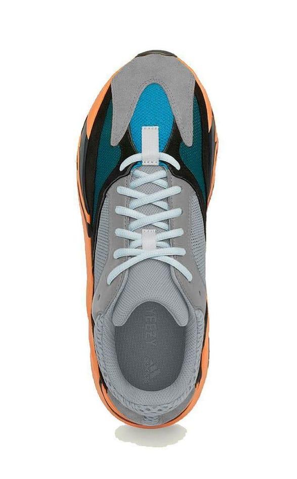 Adidas Yeezy Boost 700 'Warm Orange' Top Mock-up