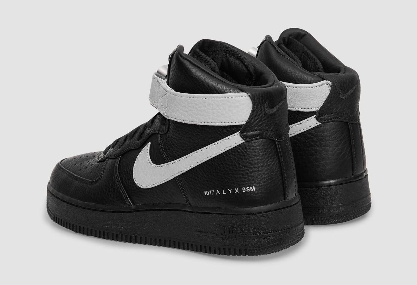Alyx x Nike Air Force 1 High CQ4018-003 Heel