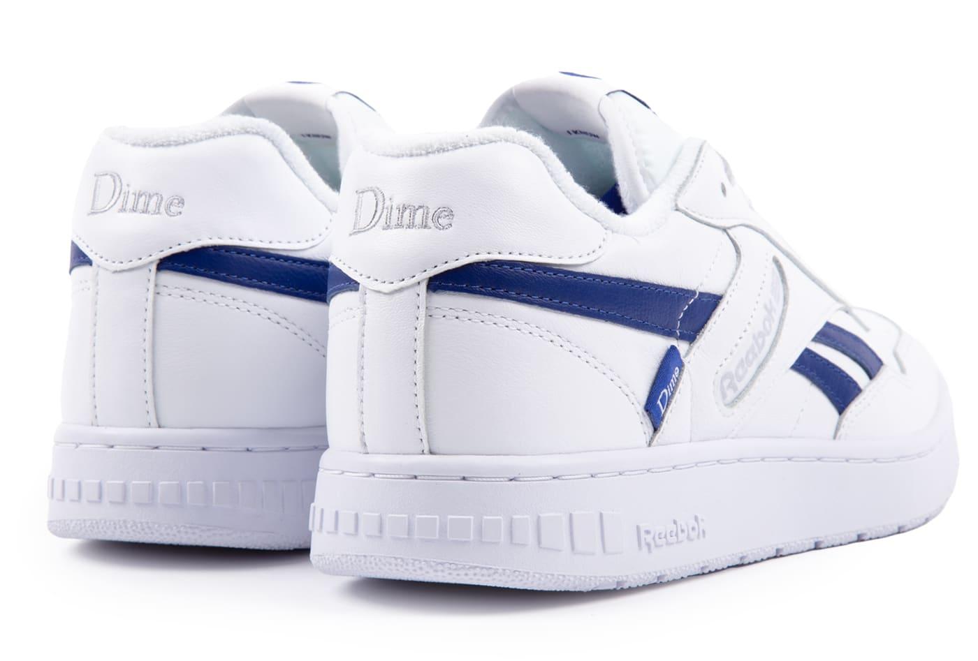 Dime x Reebok BB4000 White Heel