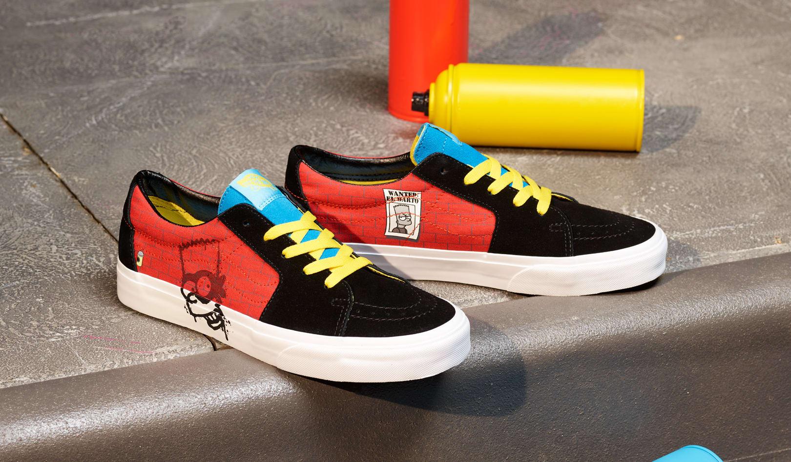 The Simpsons x Vans Sk8-Low