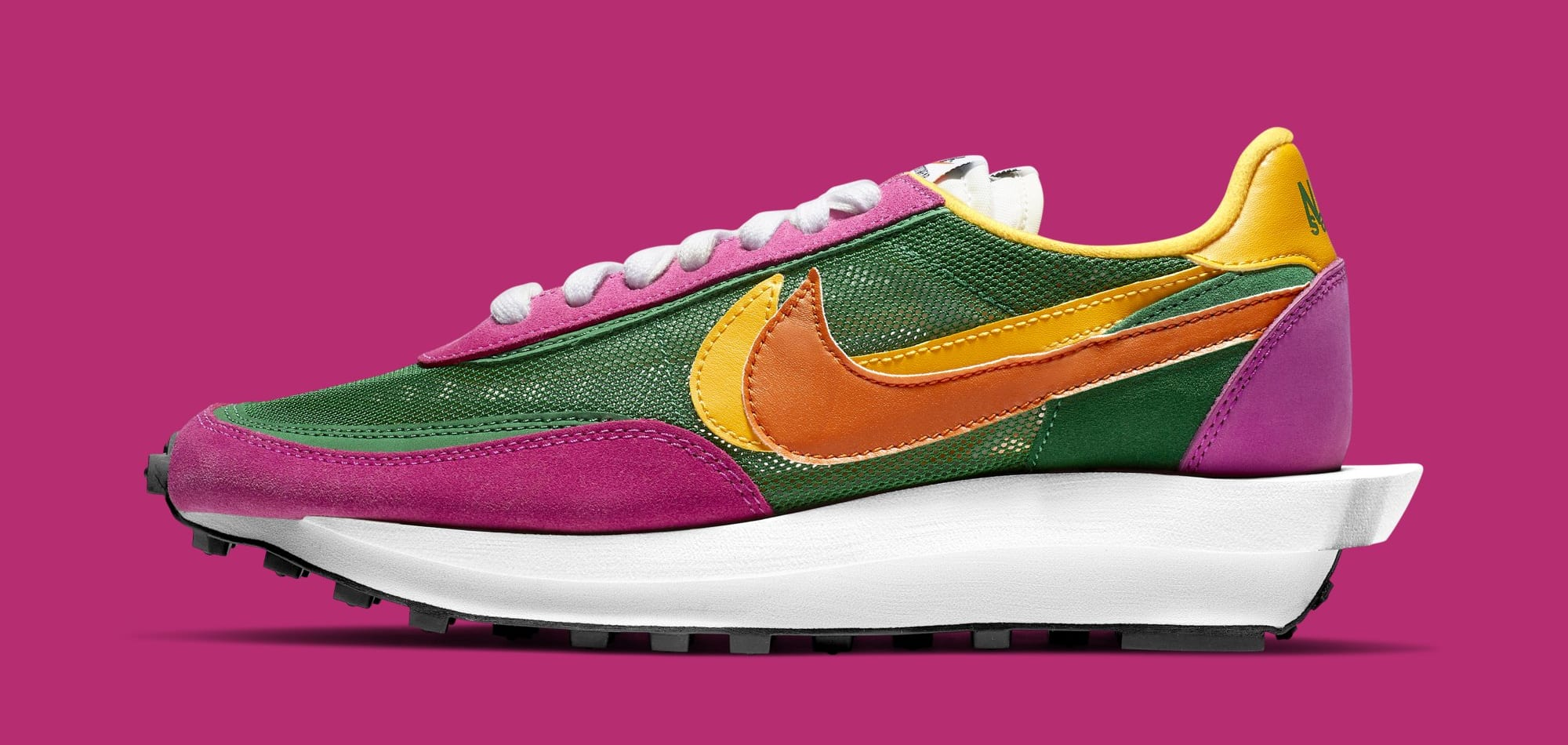 Another Colorful Sacai x Nike LDWaffle Is On the Way