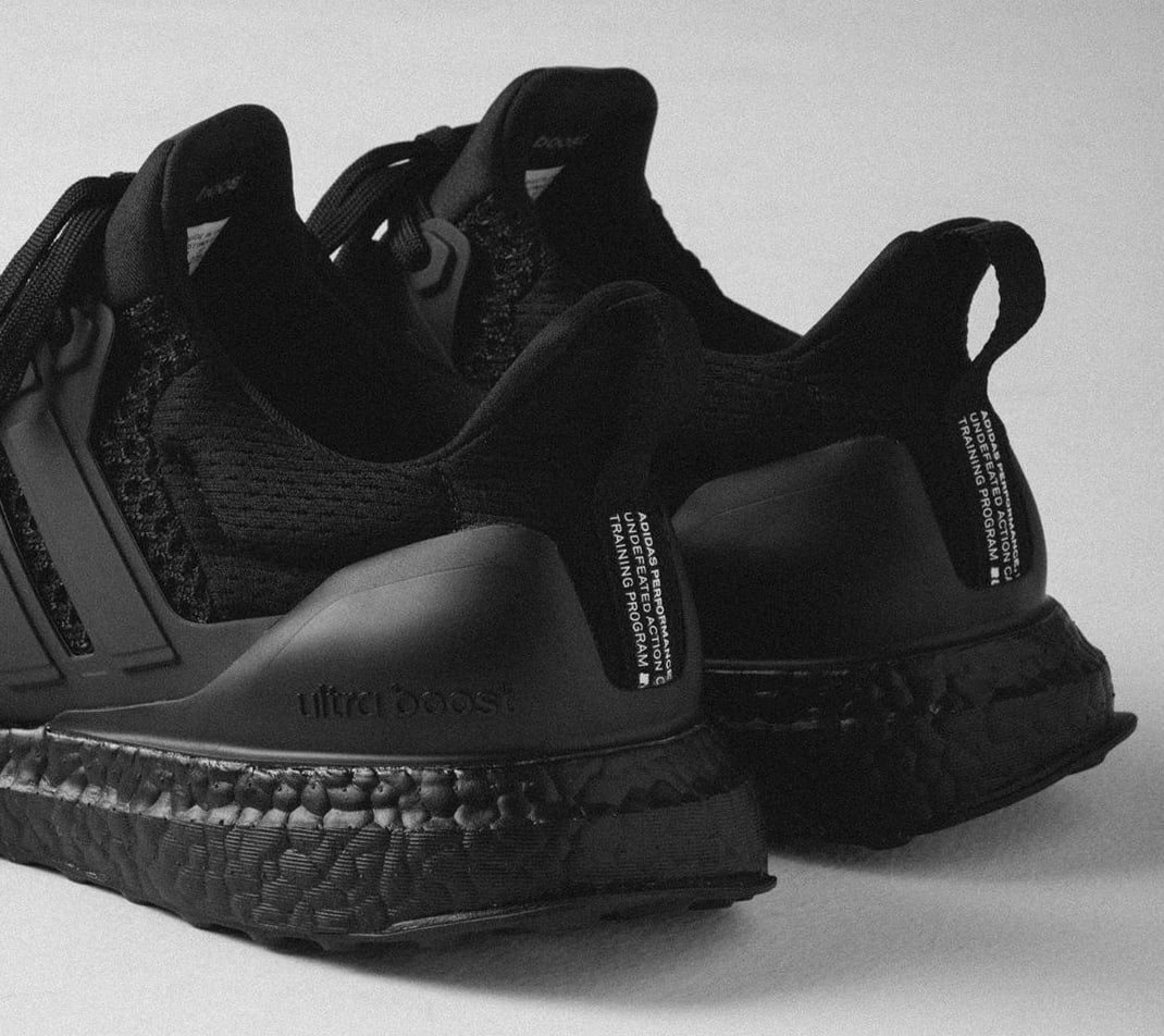 UNDFTD x Adidas Ultra Boost 'Blackout' (Heel)