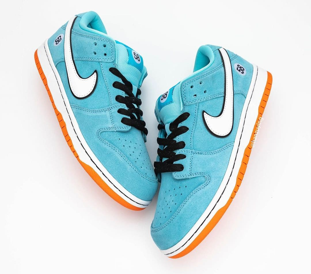 Nike SB Dunk Low 'Gulf' BQ6817-401 Side
