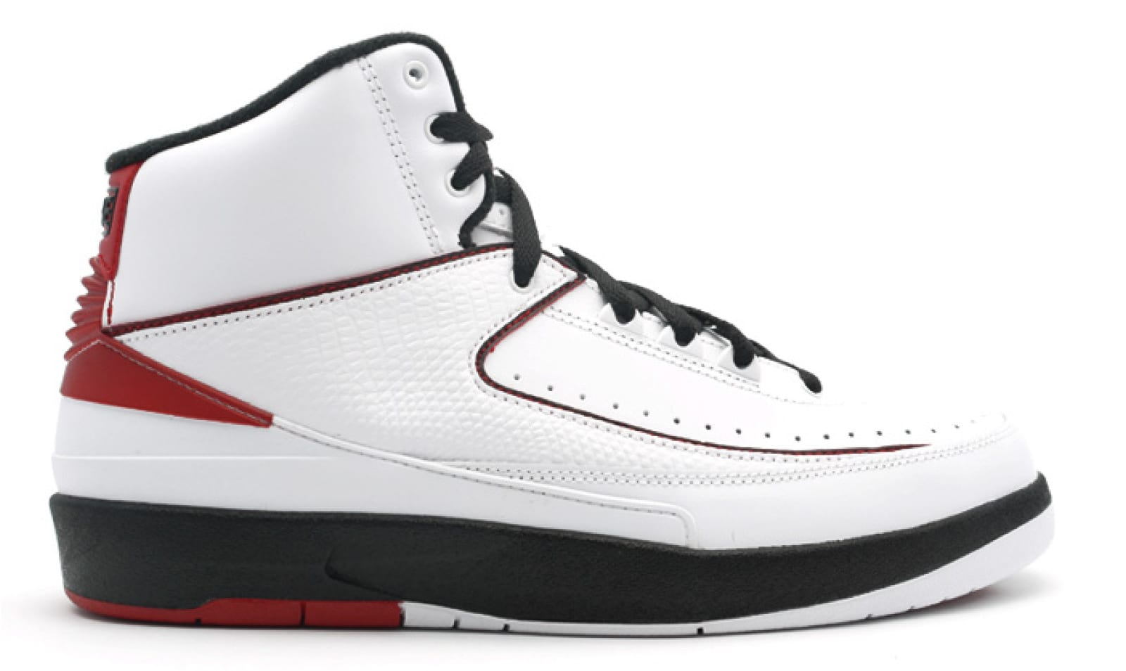 Air Jordan 2 'White/Black/Red'