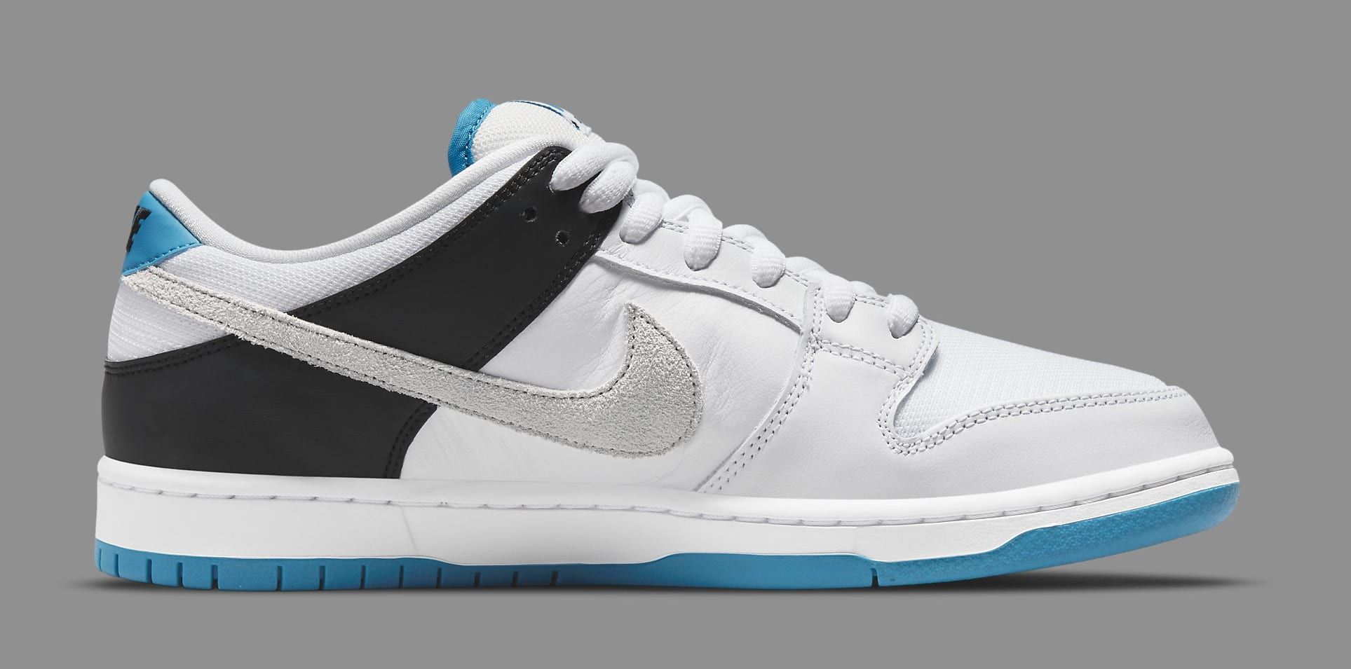 Nike SB Dunk Low 'Laser Blue' BQ6817-101 Medial