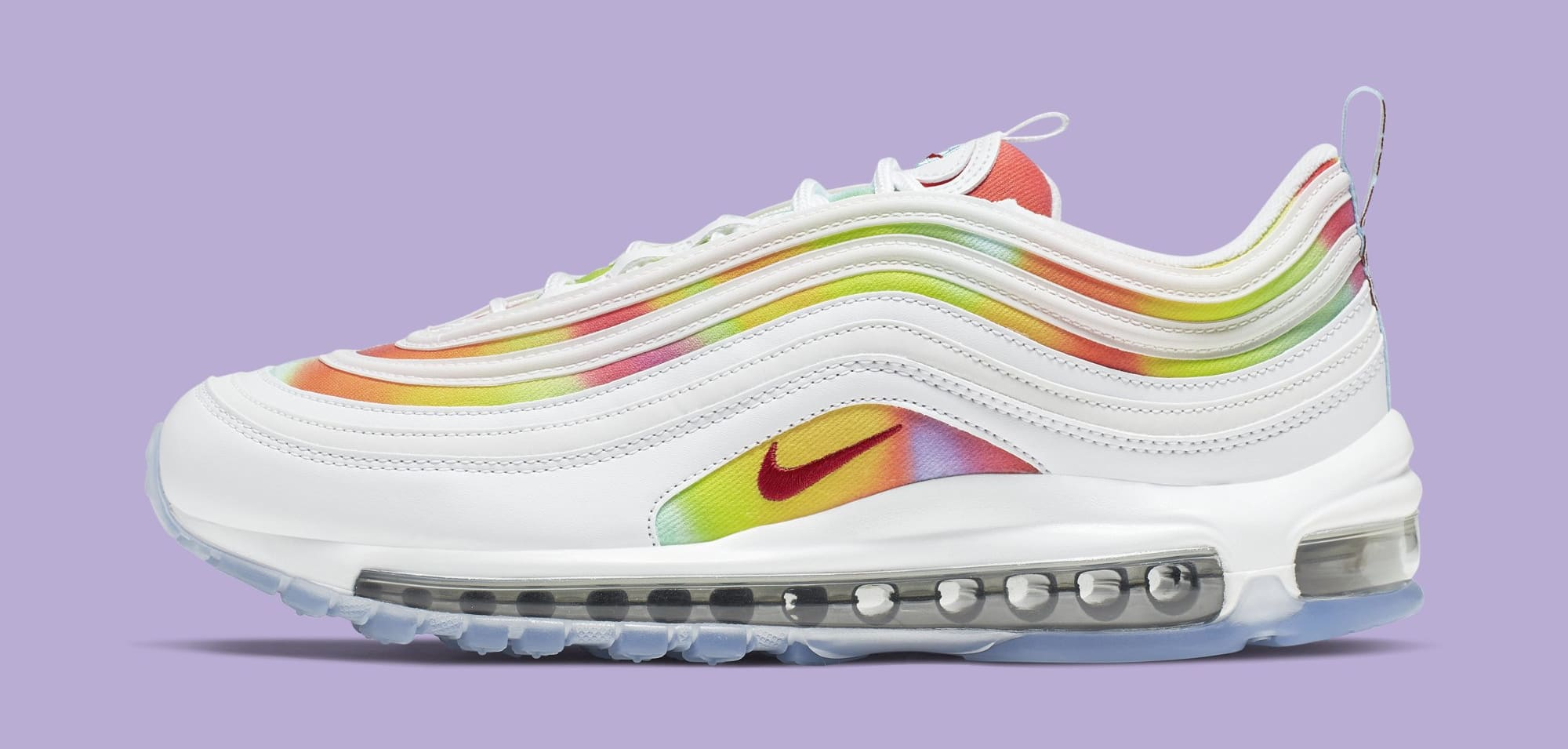Nike Air Max 97 'Tie-Dye/Chicago' CK0839-100 (Lateral)