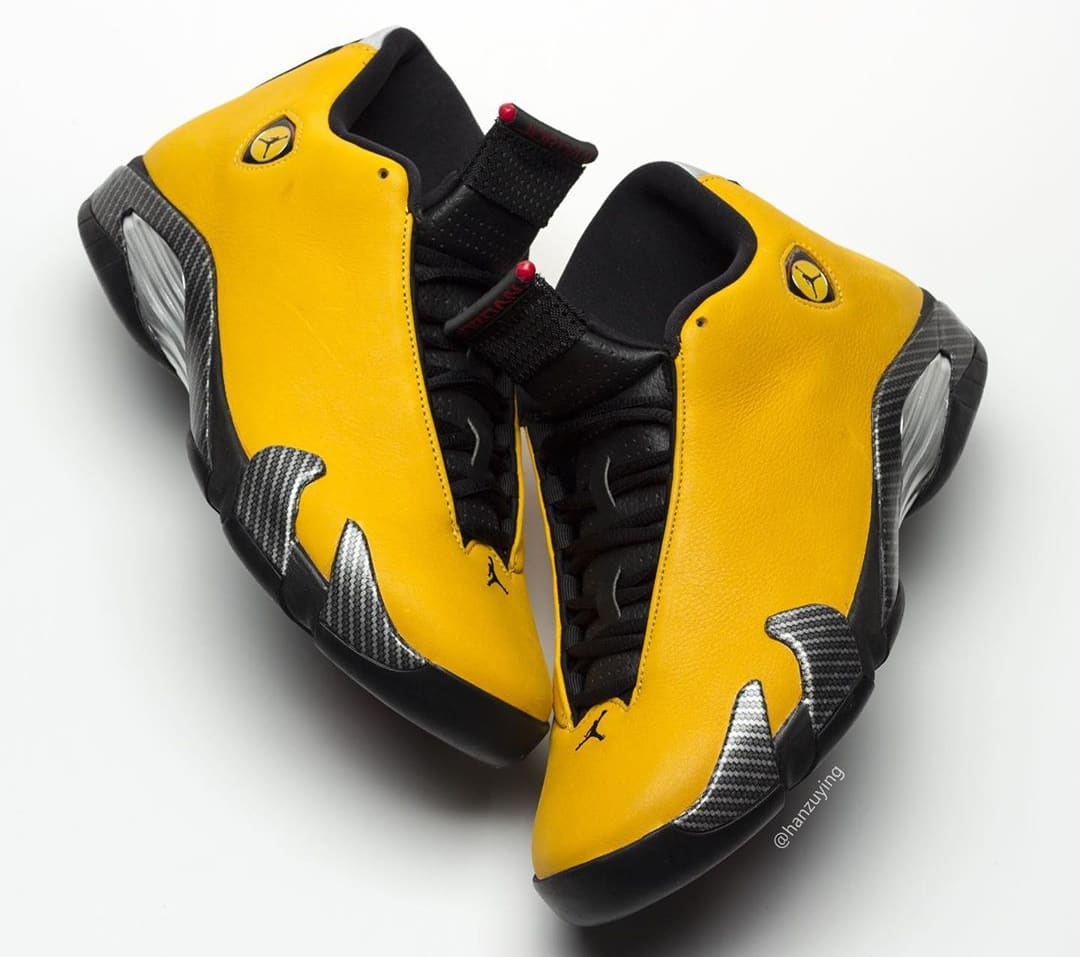 reputable site 9311d de050 Air Jordan 14 Retro 'Yellow Ferrari' Release Date 06/22/19 ...