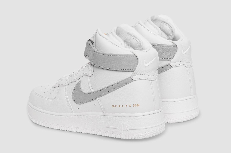 Alyx x Nike Air Force 1 High CQ4018-104 Heel