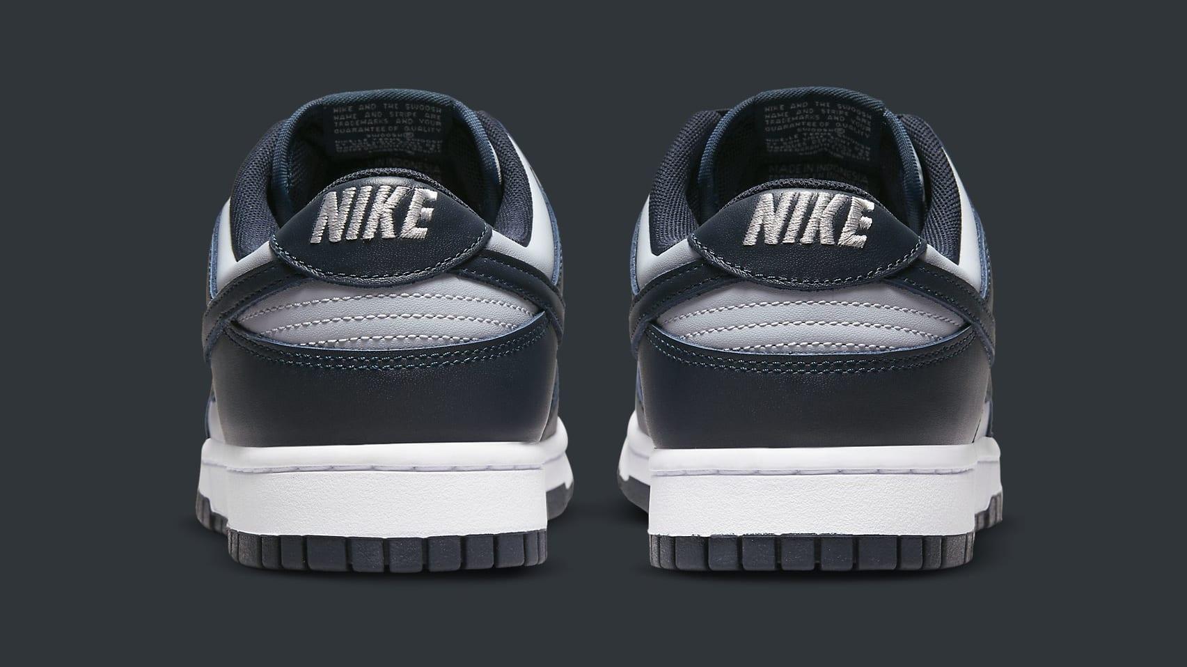 Nike Dunk Low 'Georgetown' DD1391-003 Heel