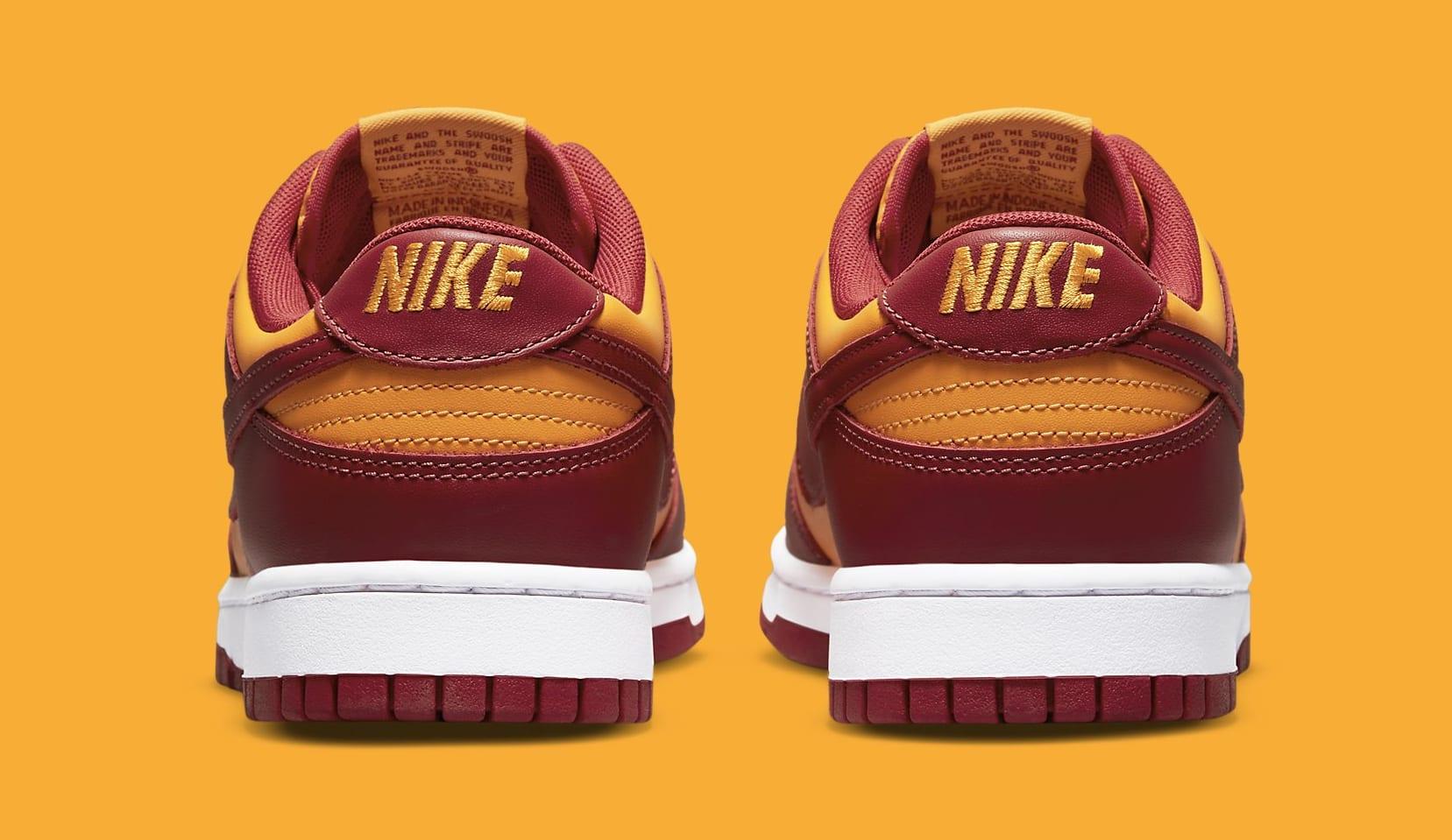 Nike Dunk Low 'Midas Gold' DD1391-701 Heel
