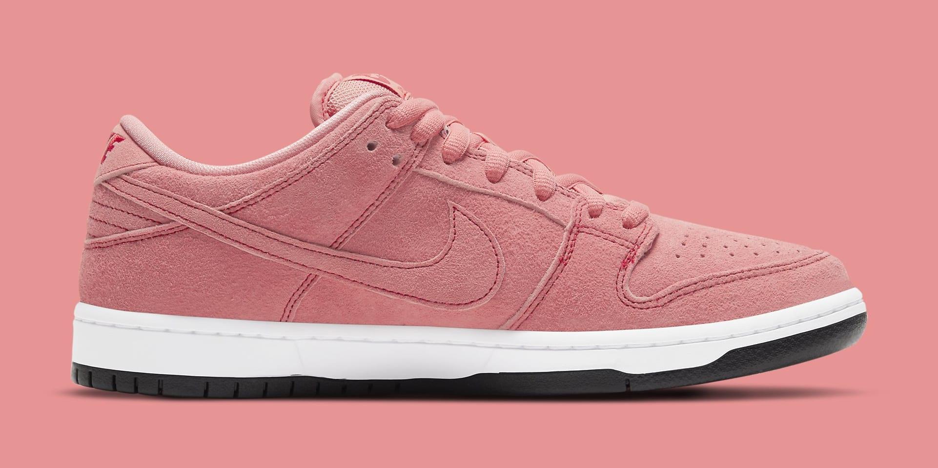 Nike SB Dunk Low 'Pink Pig' CV1655-600 Medial