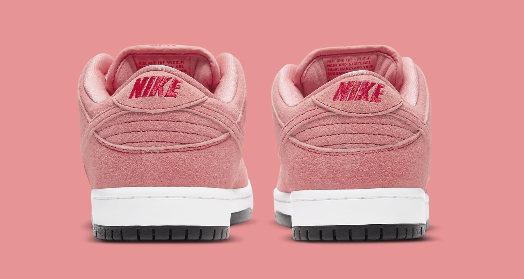 Nike SB Dunk Low 'Pink Pig' CV1655-600 Heel
