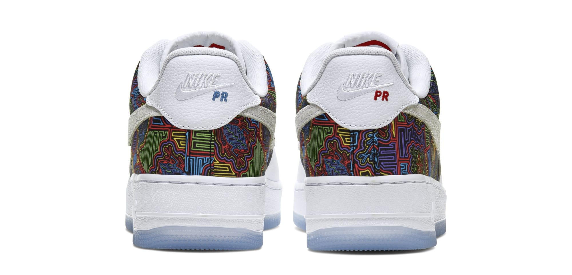 "Nike Air Force 1 Low ""Puerto Rico"" Comes With Colorful Mosaics: Details"