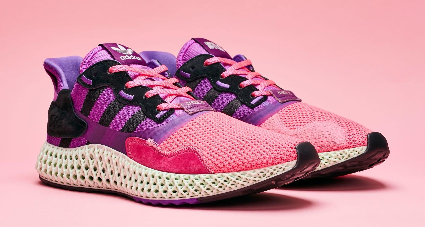 Sneakersnstuff x Adidas Consortium ZX 4000 4D 'Sunset' (Pair)