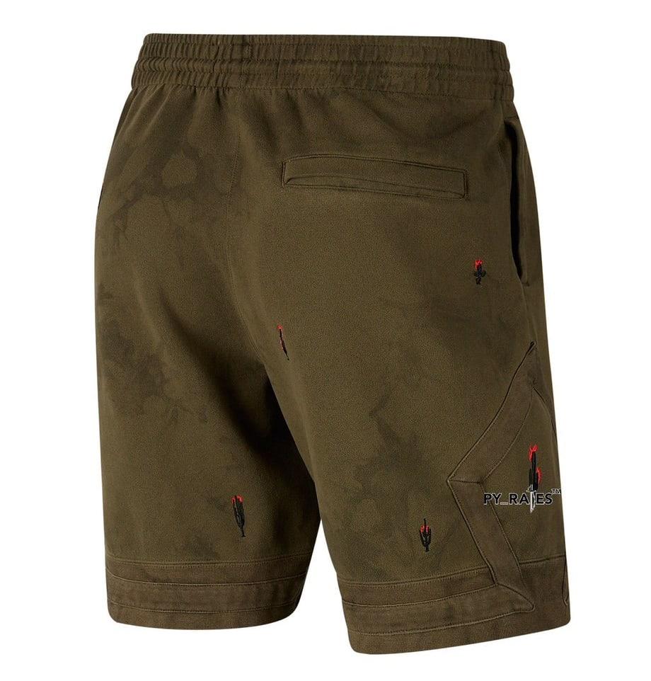 Travis Scott Merchandise Shorts Back