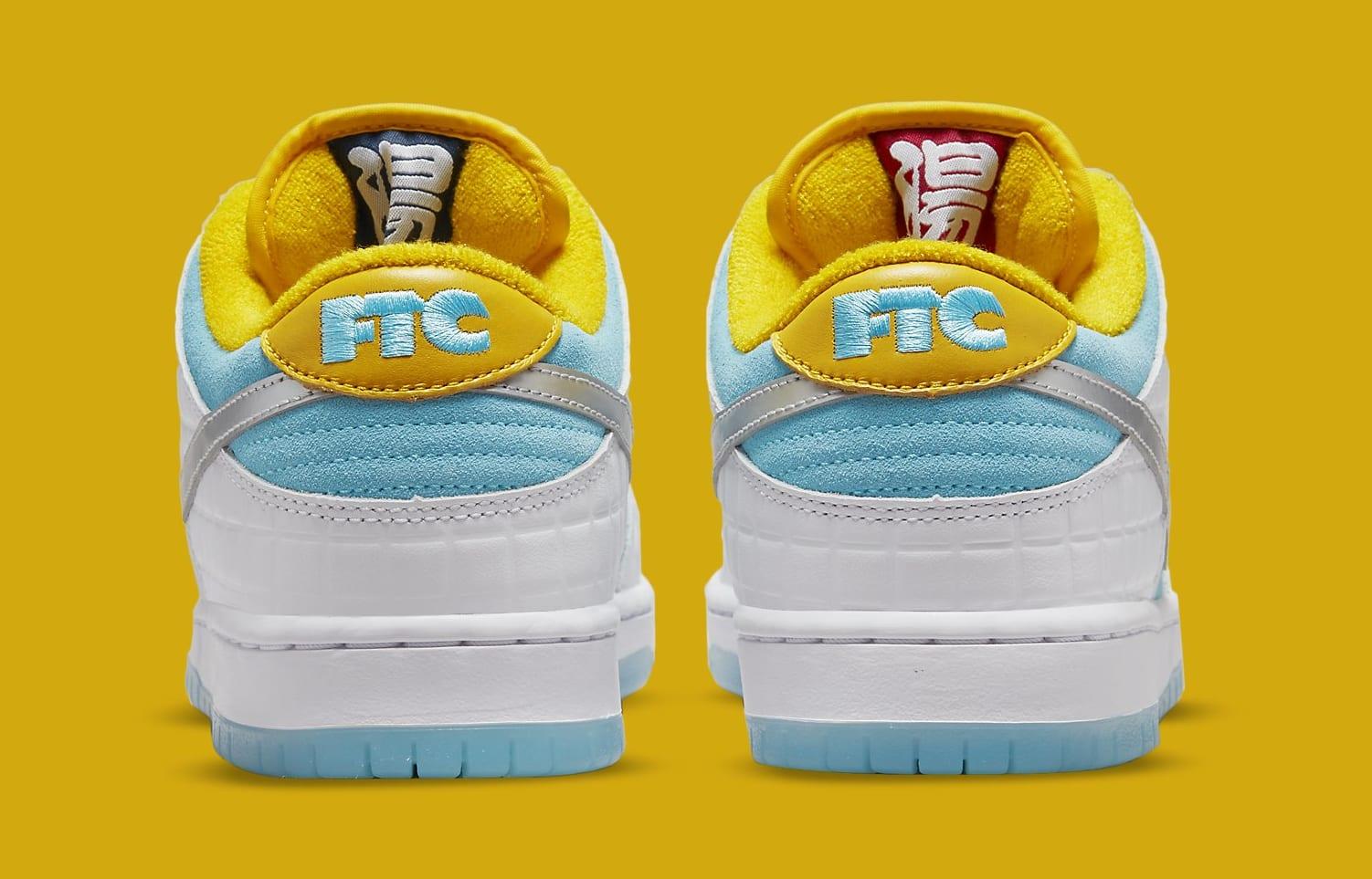 FTC x Nike SB Dunk Low DH7687-400 Heel