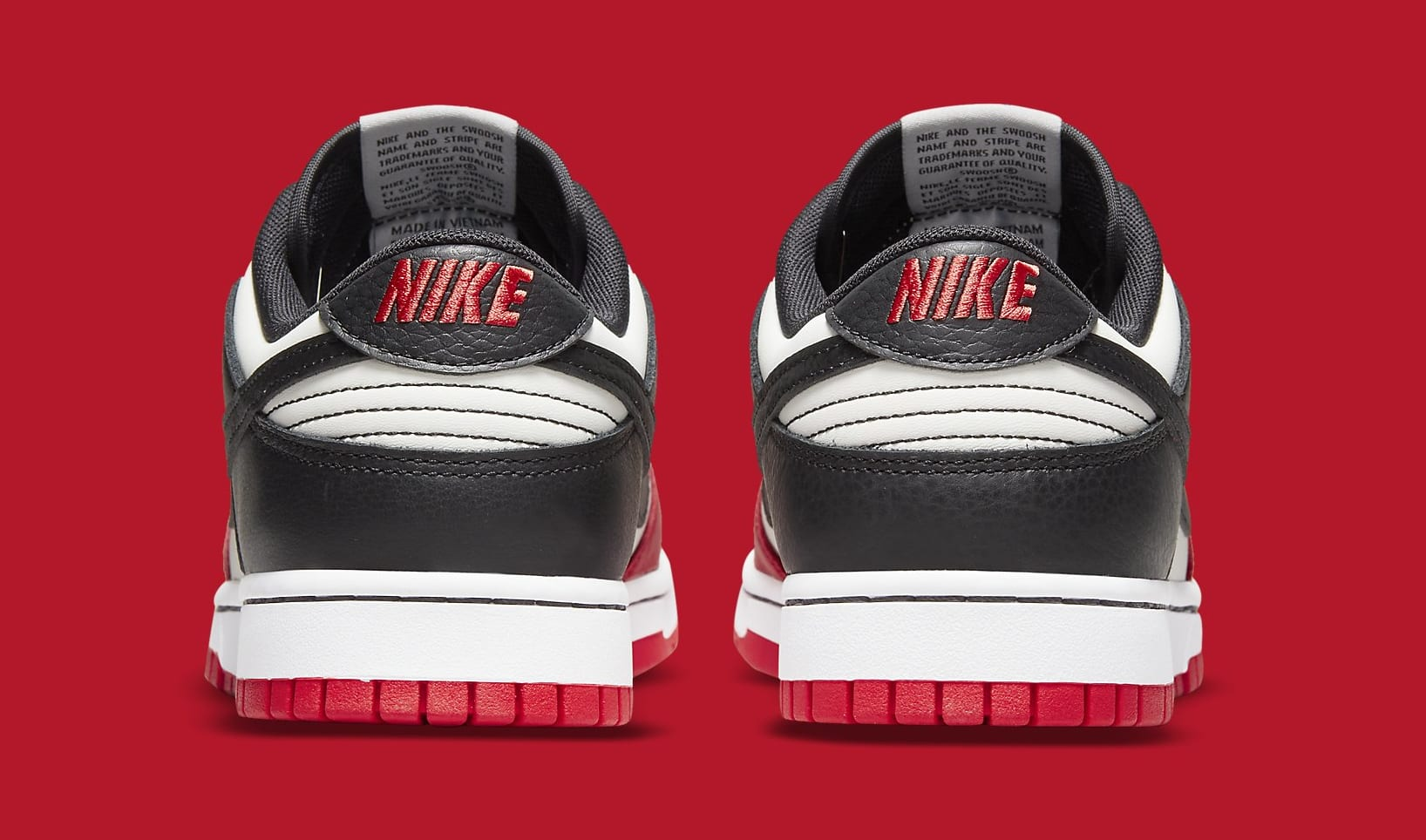 Nike Dunk Low 'NBA 75th Anniversary' DD3363-100 Heel