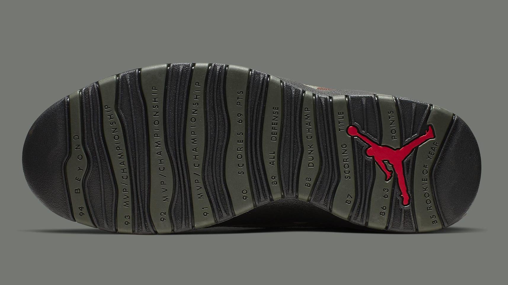 Air Jordan 10 Camo Release Date 310805-201 Sole