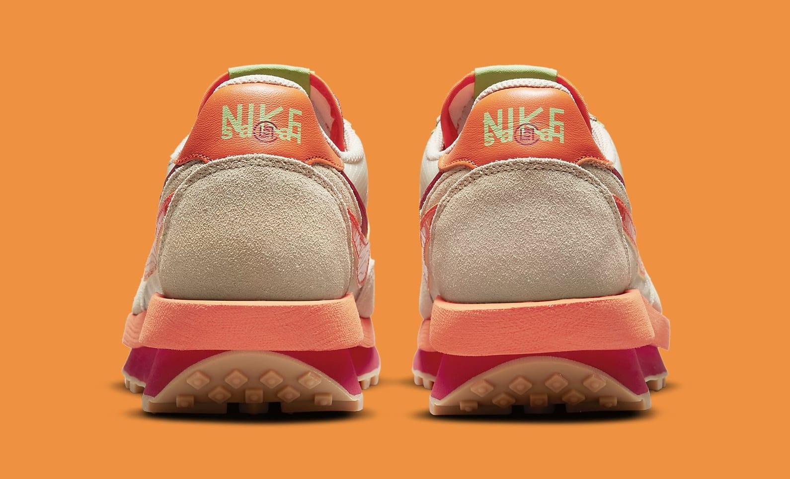 Sacai x Clot x Nike LDWaffle DH1347-100 Heel