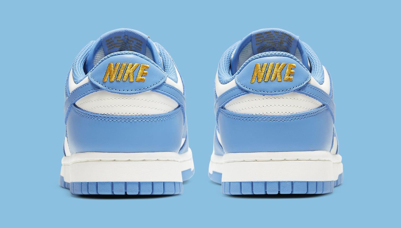 Nike Dunk Low Women's 'Coast' DD1503-100 Heel