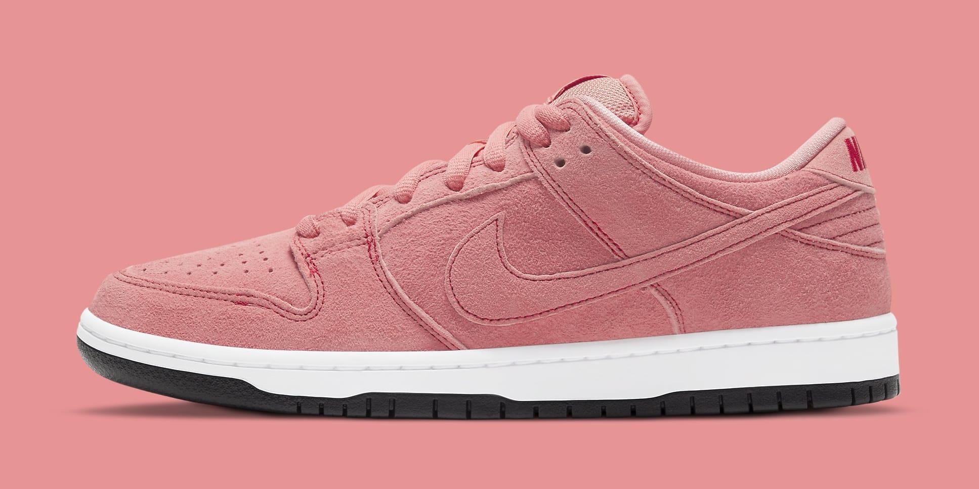 Nike SB Dunk Low 'Pink Pig' CV1655-600 Lateral