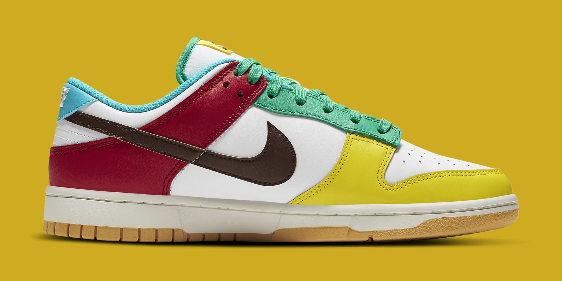 Nike Dunk Low 'Free.99 White' DH0952-100 Medial