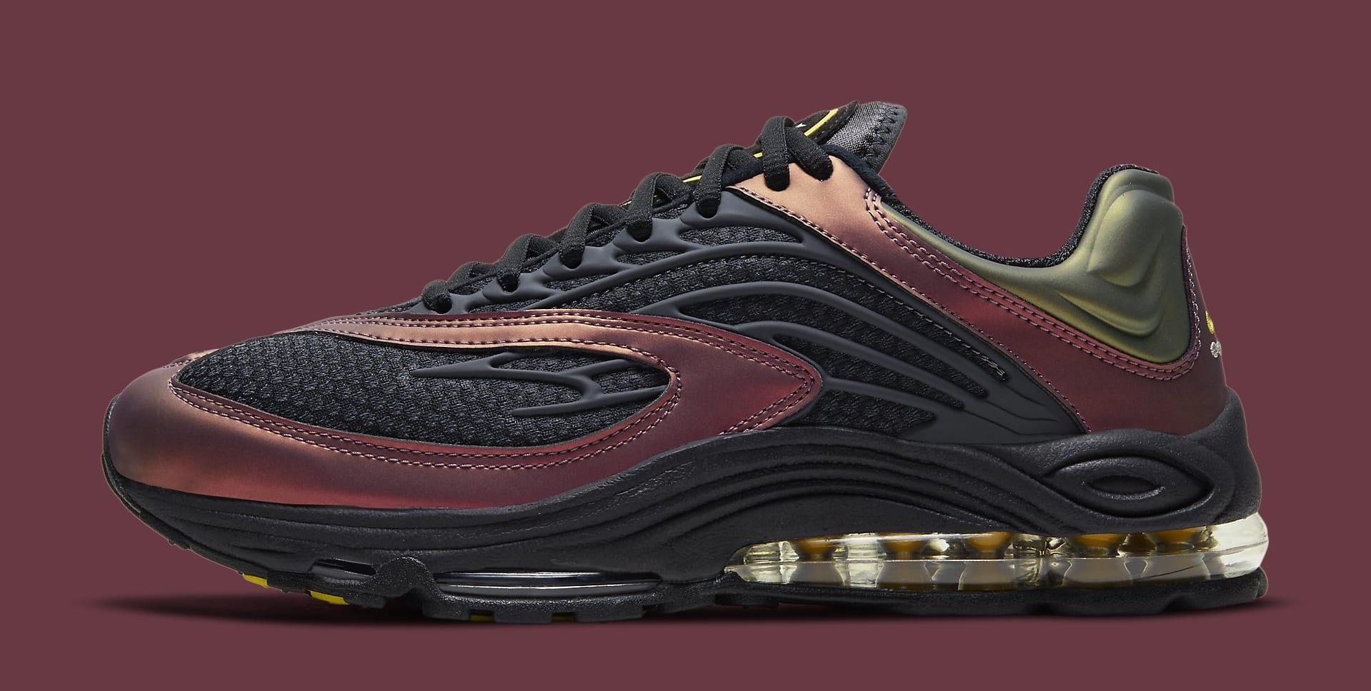 Nike Air Tuned Max Black/Celery/Dark Charcoal CV6984-001 Lateral