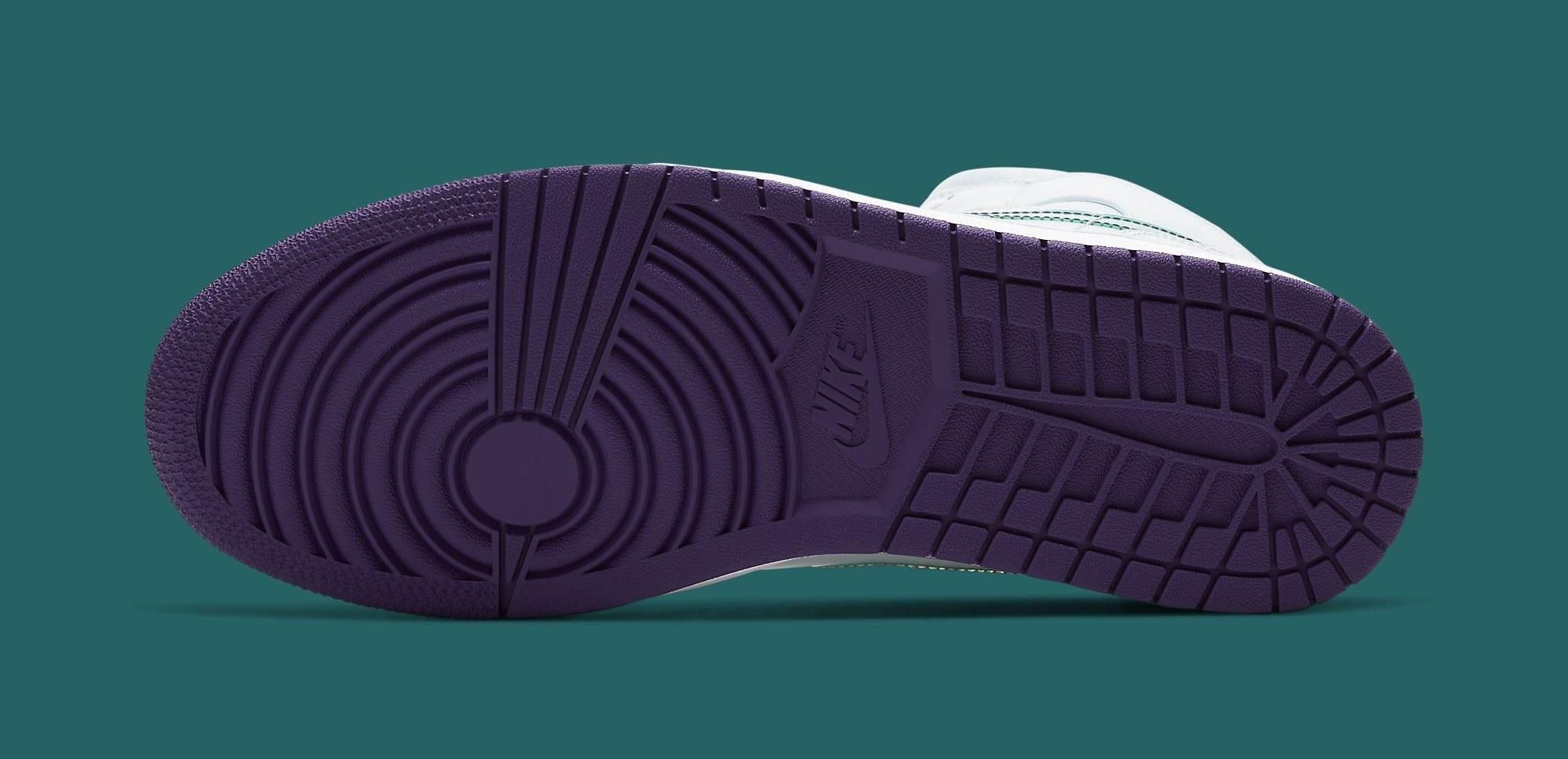 Air Jordan 1 Mid SE 'Nike Hoops' CW5853-100 Outsole