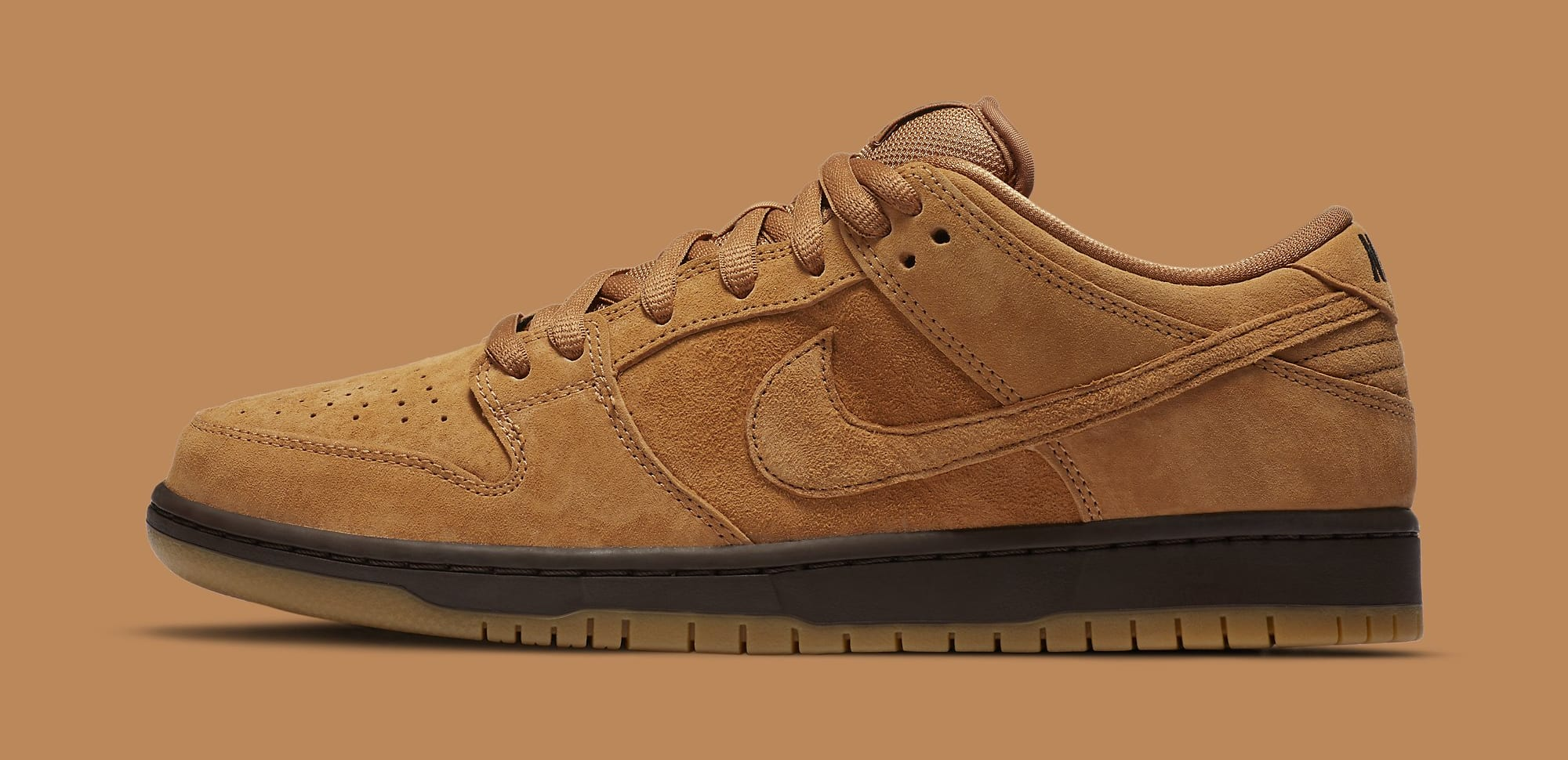 Nike SB Dunk Low 'Wheat Mocha' BQ6817-204 Lateral