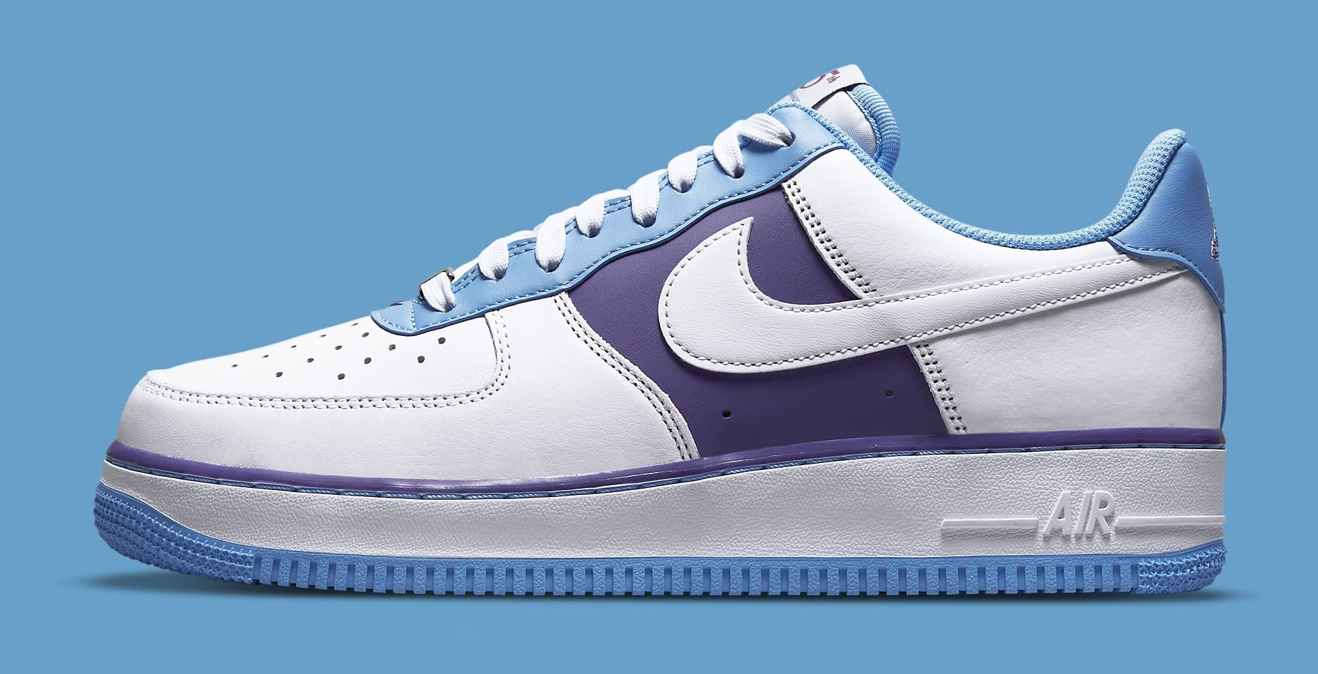 Nike Air Force 1 Low 'Lakers' NBA 75th Anniversary DC8874-101 Lateral