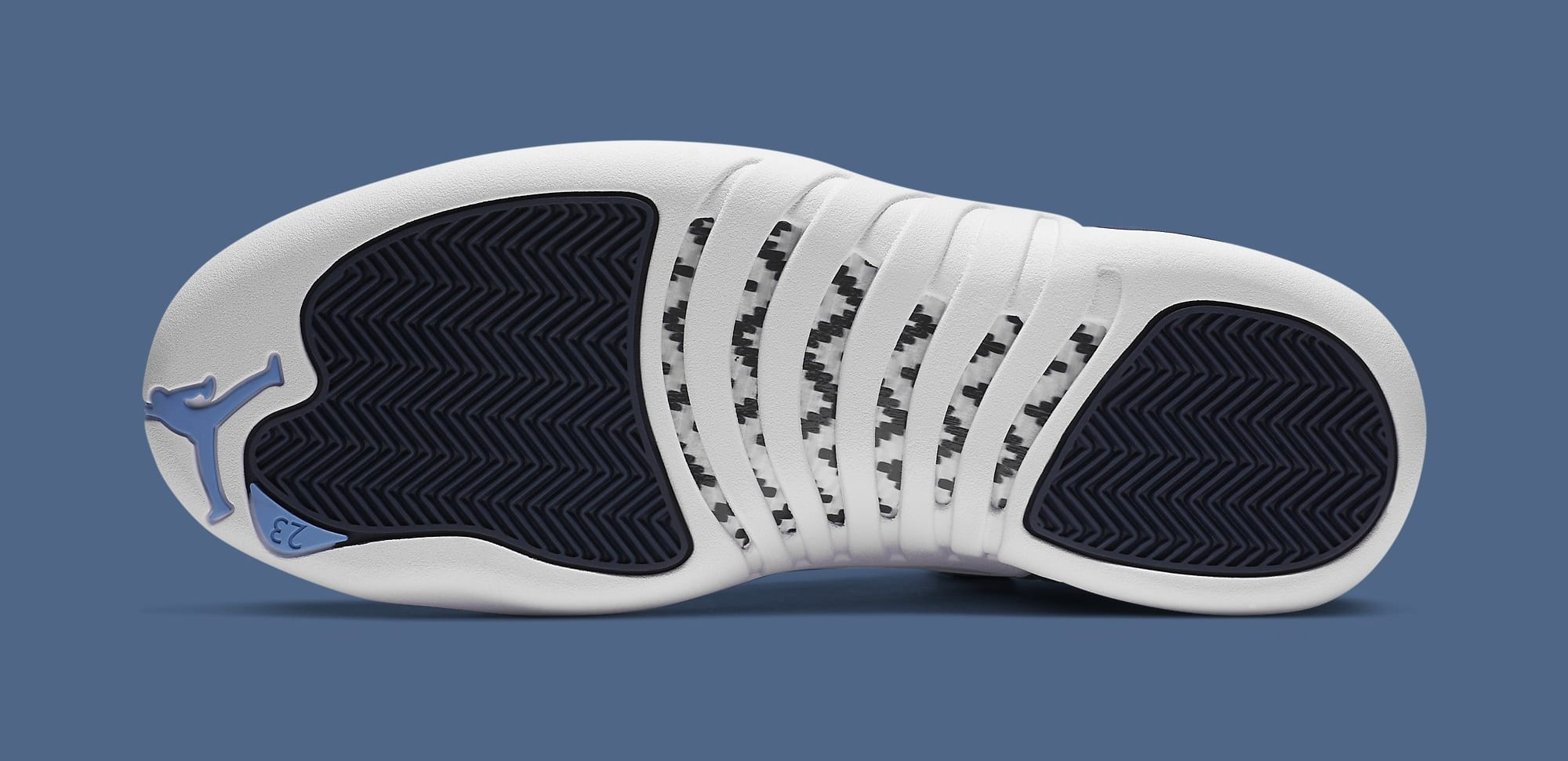 Air Jordan 12 Retro 'Indigo' 130690-404 Outsole