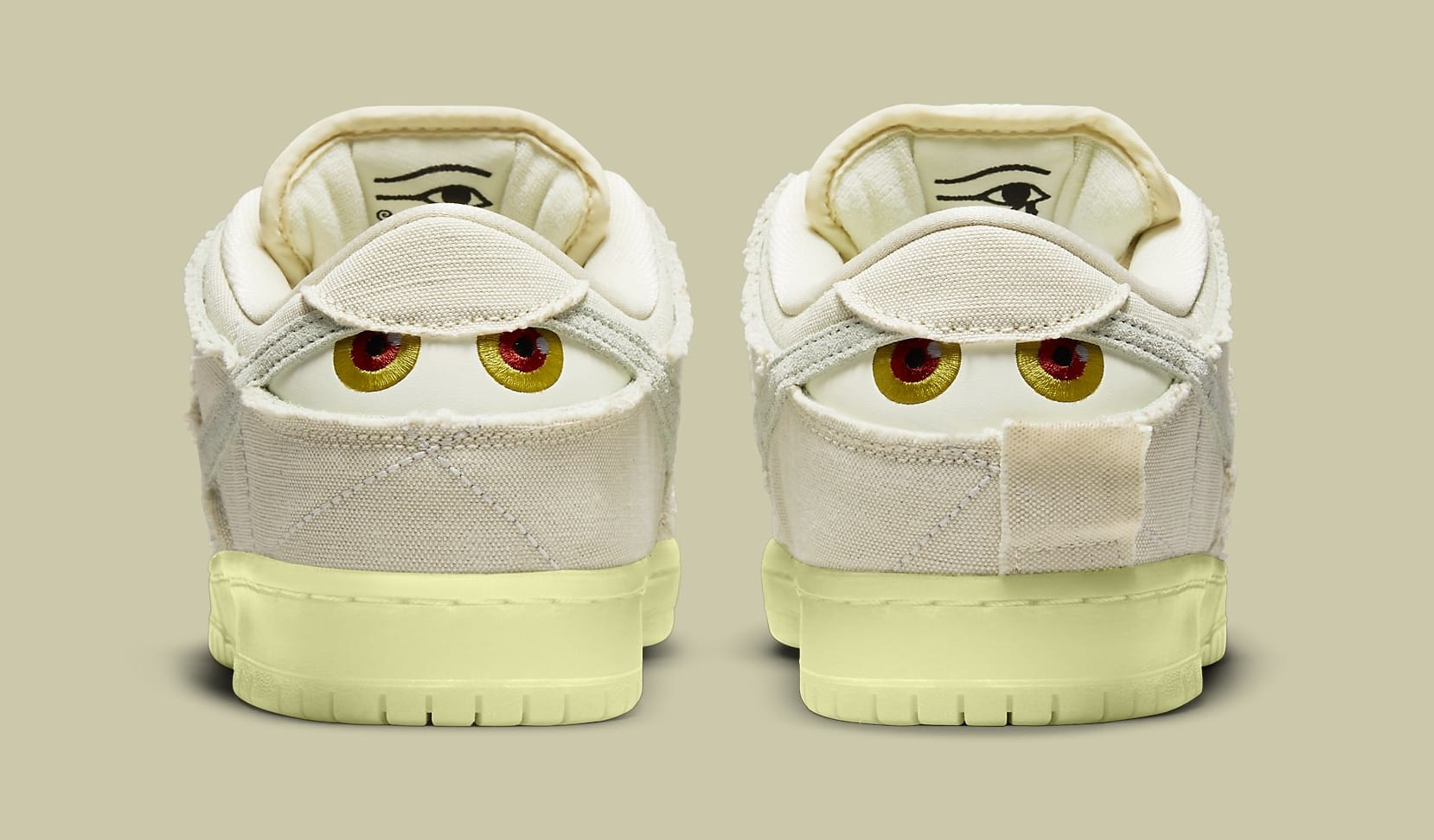 Nike SB Dunk Low 'Mummy' DM0774-111 Heel