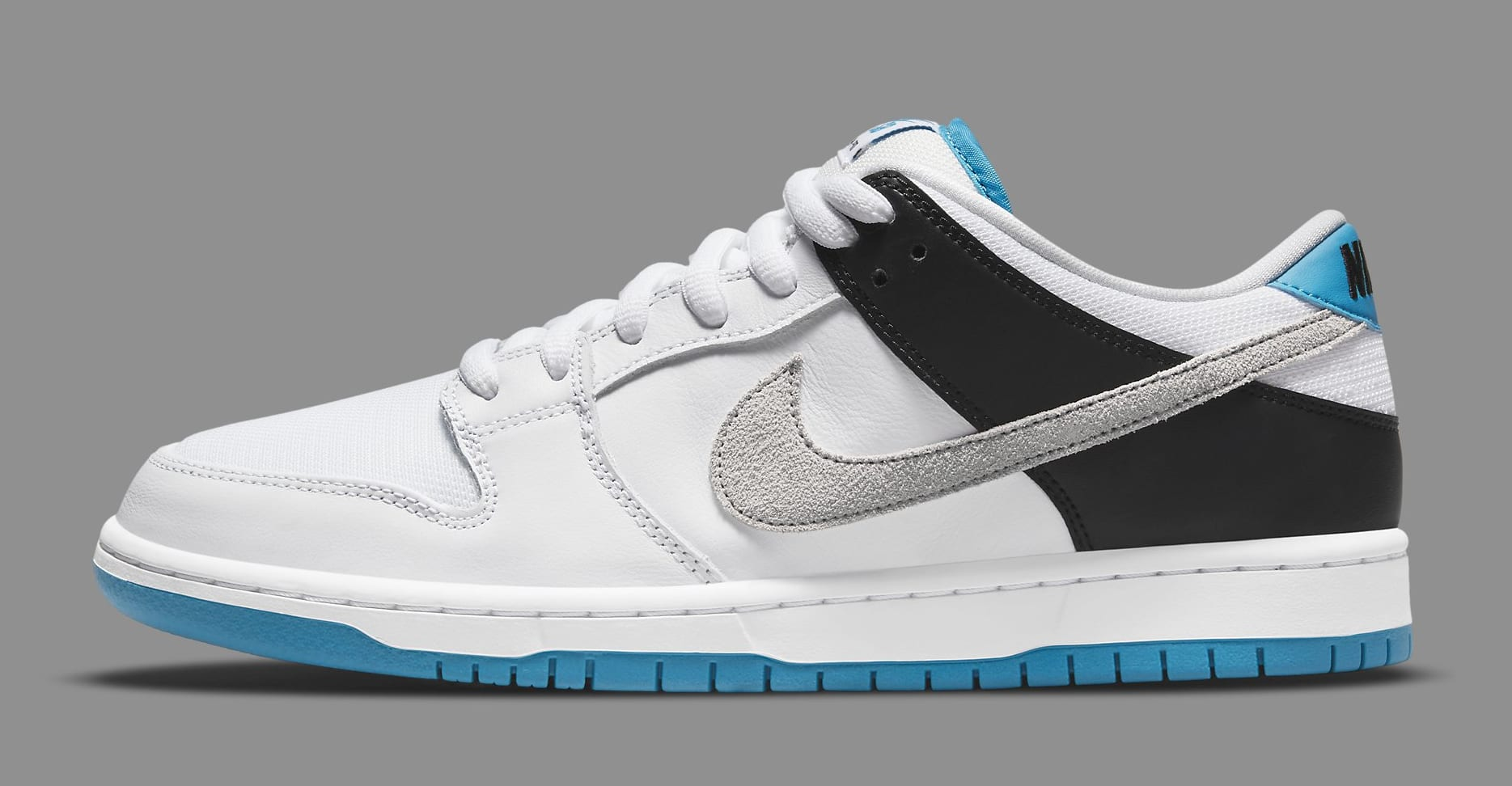 Nike SB Dunk Low 'Laser Blue' BQ6817-101 Lateral