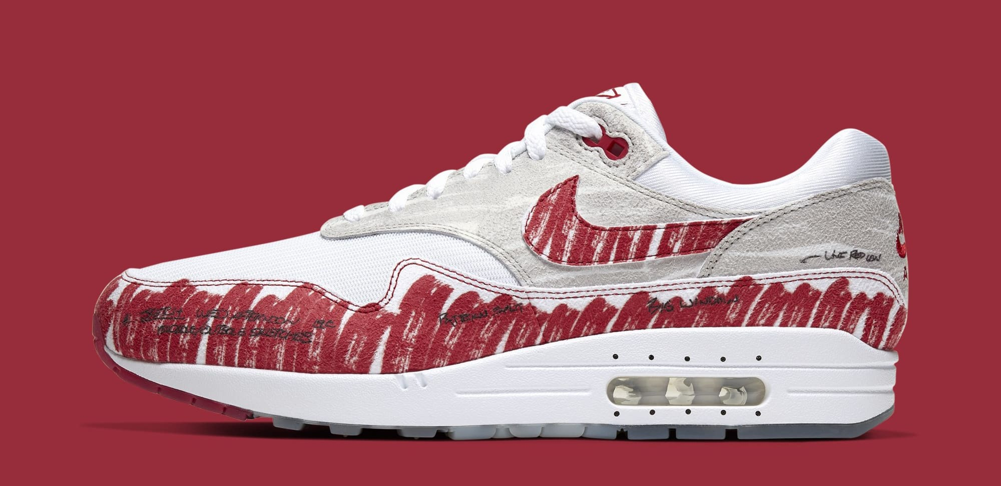 Nike Air Max 1 'Sketch to Shelf' CJ4286-101 (Lateral)