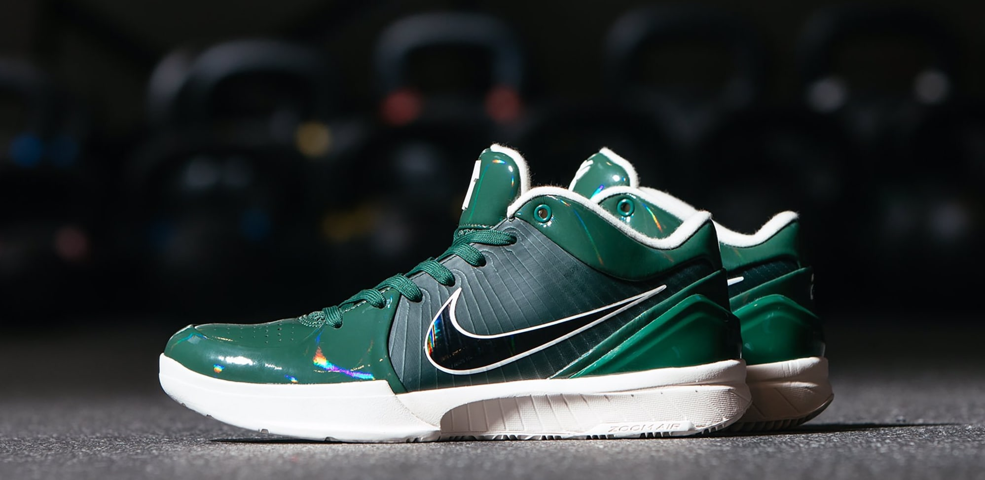 Undefeated x Nike Kobe 4 Protro 'Fir' (Lateral)
